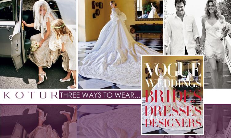 The World Of KOTUR Three Ways To Wear Bridal