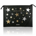 Black Peter Pouch Star Monogram