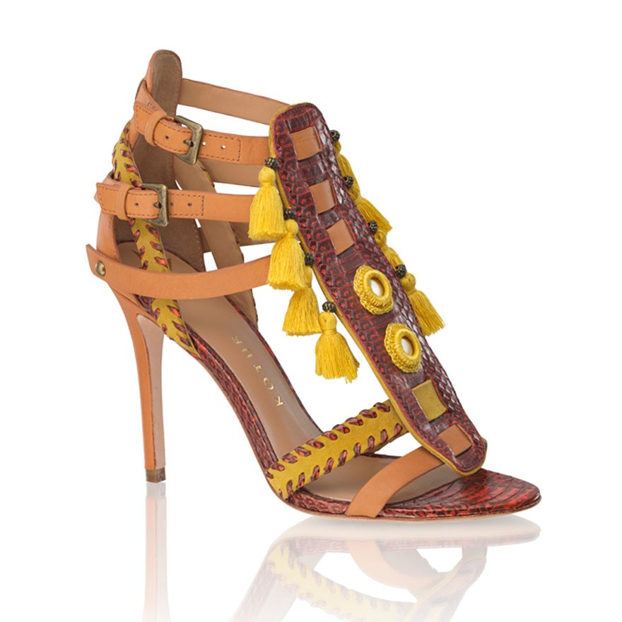 Kotur Snakeskin Guzel Sandals Cheapest sale online websites low shipping fee sale online XmoVXEsH