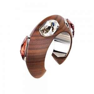 Wood Crystallized Cuff