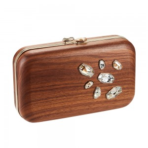 Wood Crystallized  Espey Bag