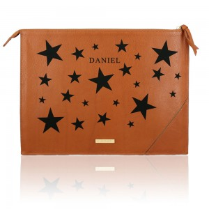 Saddle Peter Pouch Star Monogram