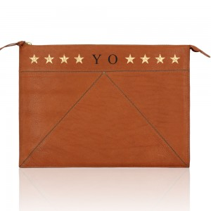 Peter Pouch Saddle Monogram