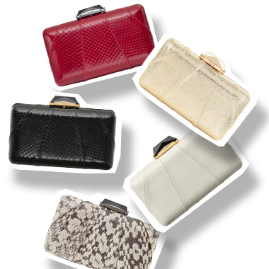 Classic clutchbag collection by Fiona Kotur