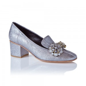 Lily Loafer Silver